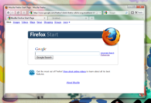 Firefox 3.7 on Vista and Windows 7